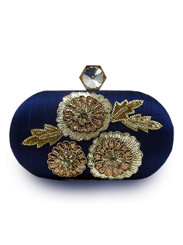 Blue Oval Clutch