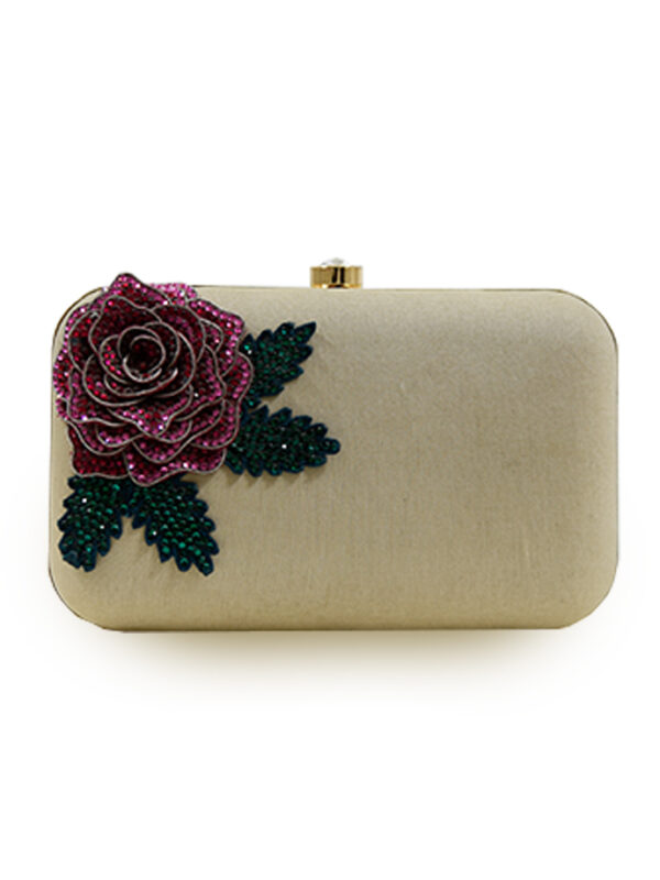 Swarovski Rose Clutch