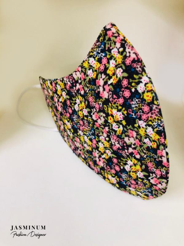 Tiny Floral Print Face Mask